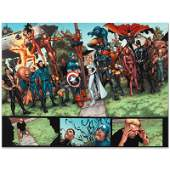 """Marvel Comics """"New Avengers #8"""" Numbered Limited"""