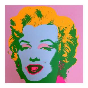 "Andy Warhol ""Marilyn 11.28"" Silk Screen Print from"