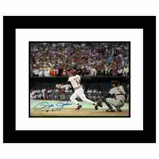 """""""Pete Rose 4192"""" Framed Archival Photograph Featuring"""