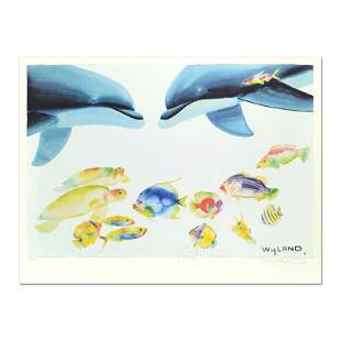 """Wyland and Tracy Taylor, """"Who Invited These Guys?"""""""