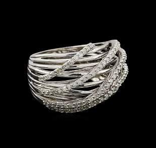 14KT White Gold 0.32 ctw Diamond Ring
