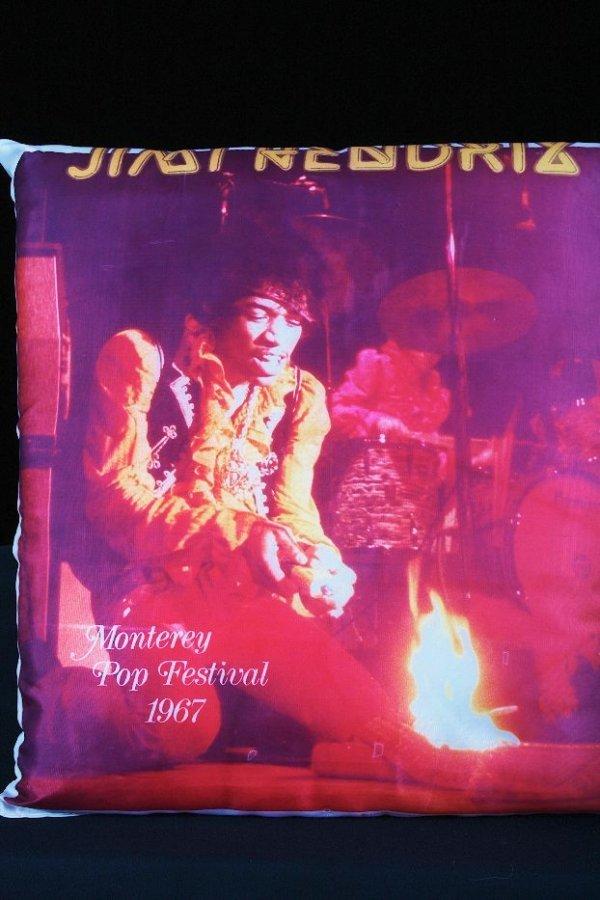1: Jimi Hendrix Monterey Pop Collectors Pillow - GG