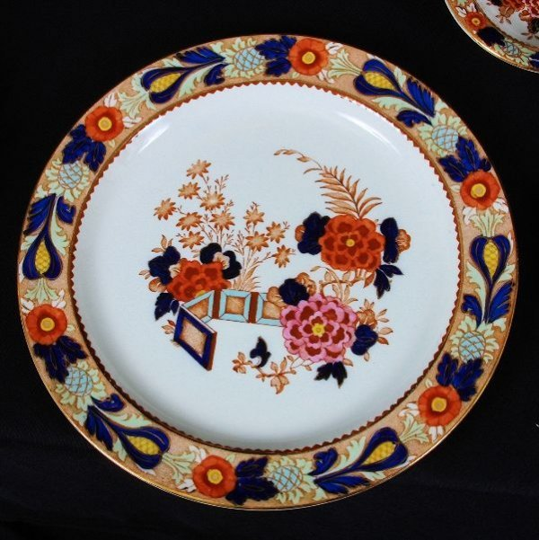 6: (97) Piece Enoch Ralph Vintage English China Set #65 - 4