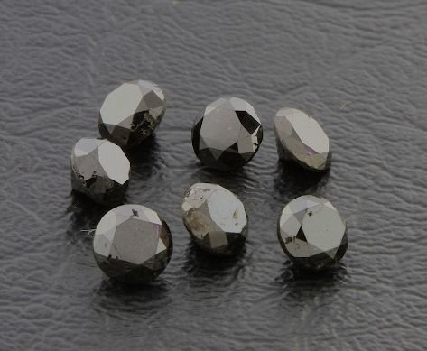 9: Black Diamond Parcel 7 Gemstones 5.61cts - DF201