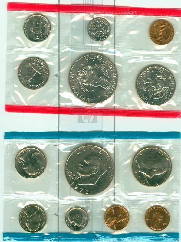 10: 1973 U.S. Mint Uncirculated Set CS13