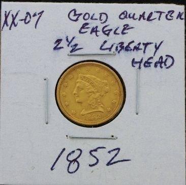 19: 1998 Liberty Head 2 1/2 Dollar Gold Piece XX07