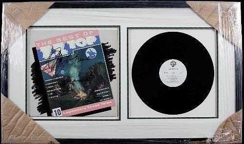 20: ZZ Top Autographed Album Collage