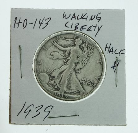 97: 1939 Walking Liberty Half Dollar HD143