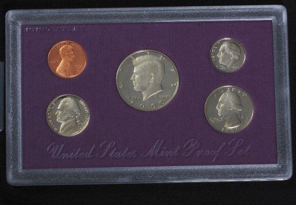 12: 1990 U.S. Mint Silver Proof Set PL5