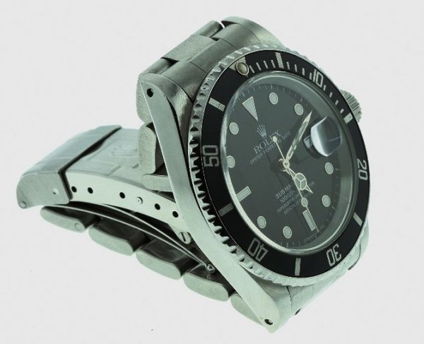14A: Rolex Oyster Perpetual Date Submariner Men's Watc