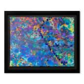 Wyland Coral Colors 52 Framed Original Watercolor