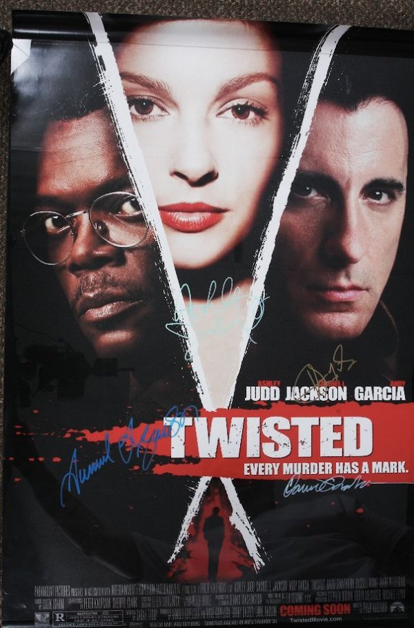 21: Twisted - Autographed Movie Poster Signed by Samuel