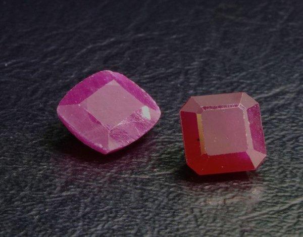 23: Ruby Parcel 2 Gemstones 10.46cts - DG21