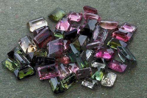 24: Tourmaline Parcel 46 Gemstones 21.97ct - DF162