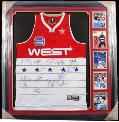300: 2006 Autographed West NBA All-Star Jersey