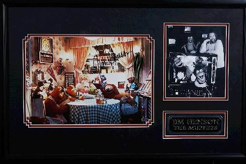 5: Jim Henson Muppets Autographed Photo Collage