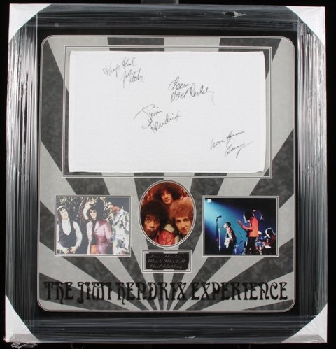 16: The Jimi Hendrix Experience Autographed Photo Colla