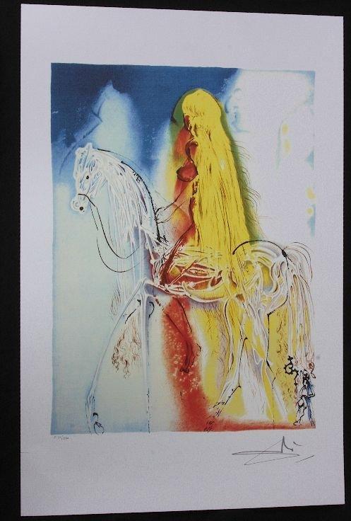 8: Salvador Dali - Lady Godiva - Print