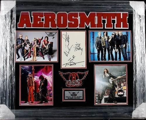 13: Aerosmith Autographed Photo Collage