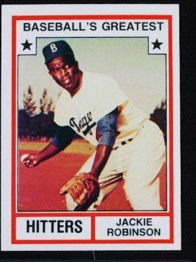 18 Vintage Baseball Card 83 Tcma Jackie Robinson C94