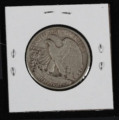 3: 1944 Walking Liberty Half Dollar HD268 - 2