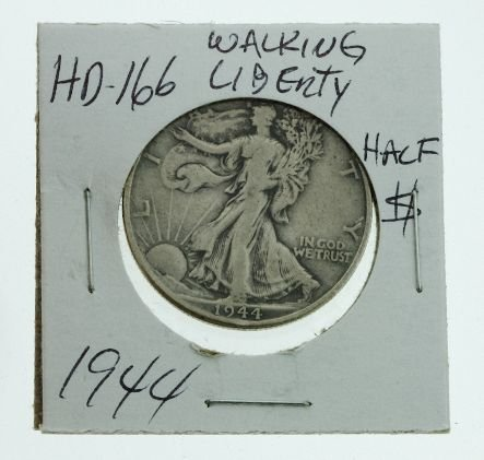 24: 1944 Walking Liberty Half Dollar HD166