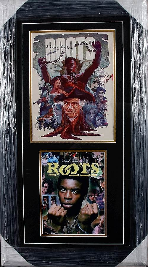 157: Roots Autographed Photo Collage Haley, Gossett Jr.