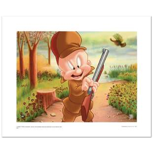 """Elmer Hunting"" Limited Edition Giclee from Warner"