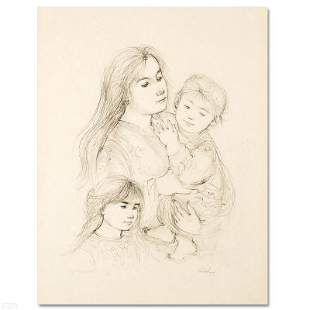 """""""Robert with Mother and Sister"""" Limited Edition"""