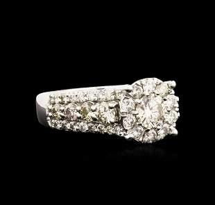 14KT White Gold 2.06 ctw Diamond Ring