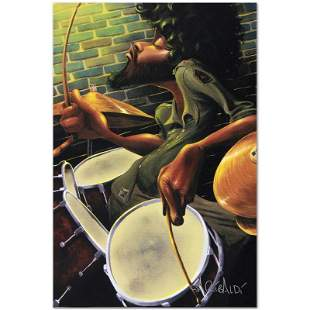 """""""Break Beat Fever"""" Limited Edition Giclee on Canvas by"""