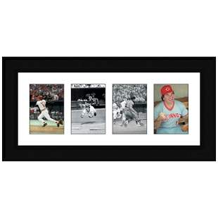 """Pete Rose Photo Series"" Framed Set of Pete Rose"