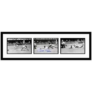"""Rose Diving Series"" Framed Set of Autographed Archival"