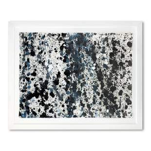 "Wyland, ""Polka Dot Sky 4"" Framed Original Watercolor"