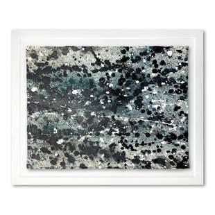 "Wyland, ""Splash 19"" Framed Original Watercolor"