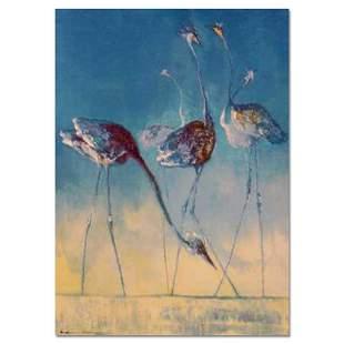 "Edwin Salomon, ""Blue Birds"" Hand Signed Limited Edition"