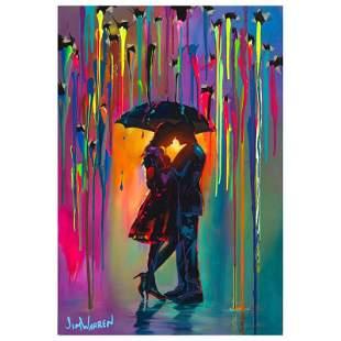 "Jim Warren, ""Love Protects"" Hand Signed, Artist"