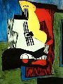 15: Picasso #28 - Still Life with Guitar - LE Giclee (B