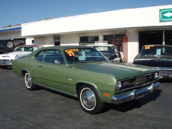 22: 1971 Plymouth Duster HardTop Automobile / Car - ID#