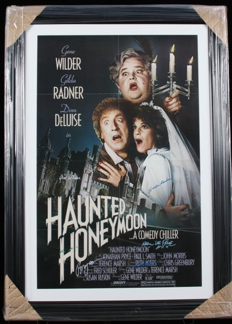 3: Haunted Honeymoon - Autographed Movie Poster Signed
