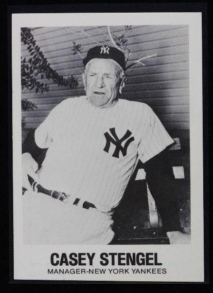 11: Casey Stengel Vintage Baseball Card '77 TCMA C76