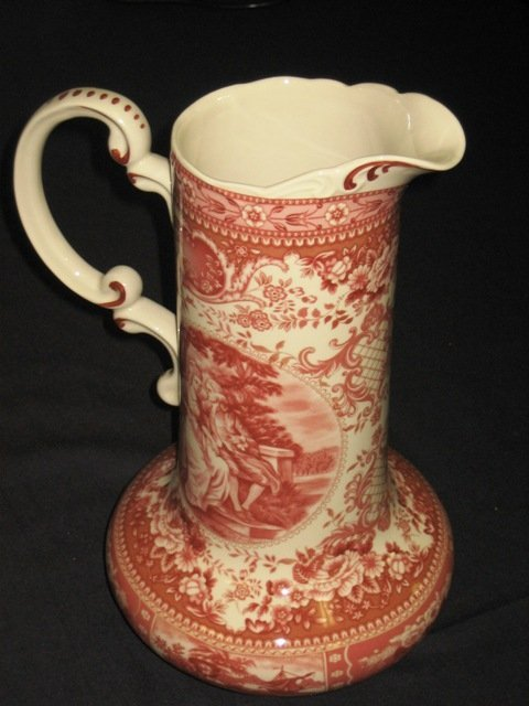 15A: Antique Style 14' Tall Red Pitcher