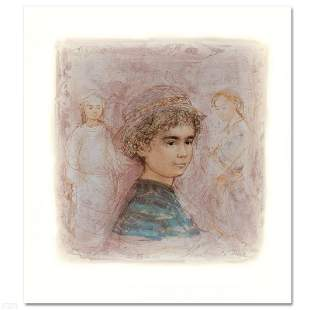 """""""Matthew"""" Limited Edition Lithograph by Edna Hibel,"""