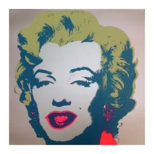 "Andy Warhol ""Marilyn 11.26"" Silk Screen Print from"