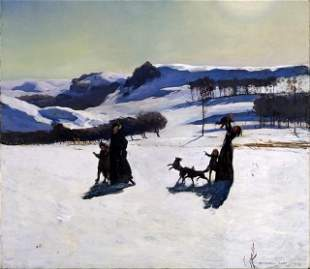 Rockwell Kent - Winter in the Berkshires