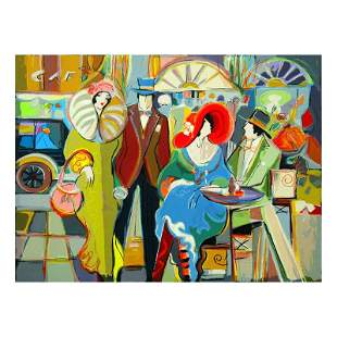 "Isaac Maimon, ""Cafe Society"" Limited Edition Serigraph,"