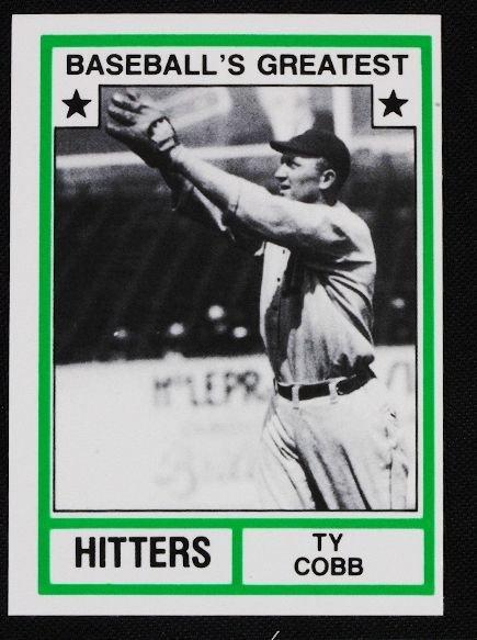 4: Vintage Baseball Card '83 TCMA Ty Cobb C99