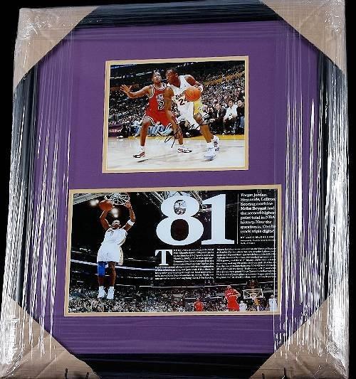 26: Kobe Bryant 81 Points 8x10 Collage vs. Bulls