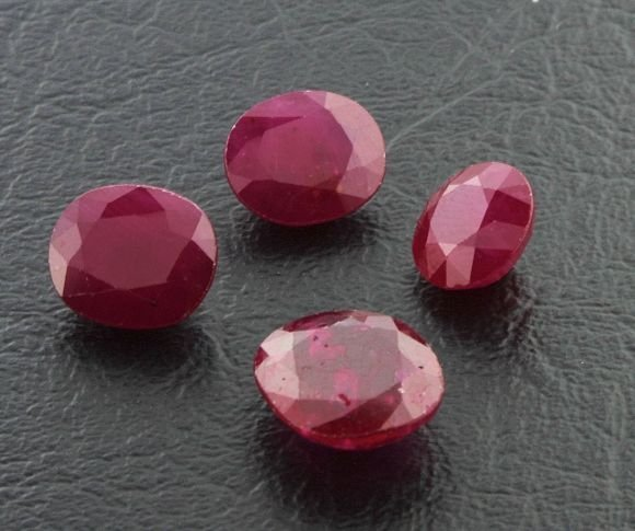 2: Ruby Parcel 4 Gemstones 29.24ctw DK5