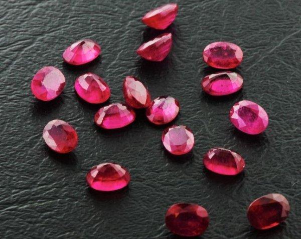 4: Ruby Parcel 17 Gemstones 20.16ctw DK243
